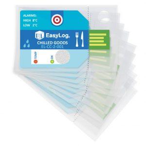 Jednorazowy rejestrator EL CC 2 001 opakowanie 10szt