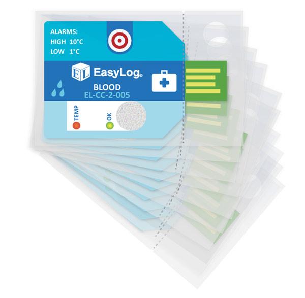 Rejestrator jednorazowy EL CC 2 005 opakowanie 10szt